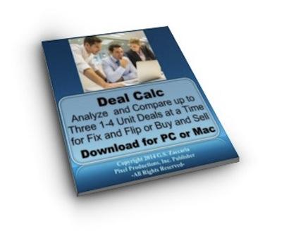 Deal Calc 1-4 Unit Deal Analyzer Calculator