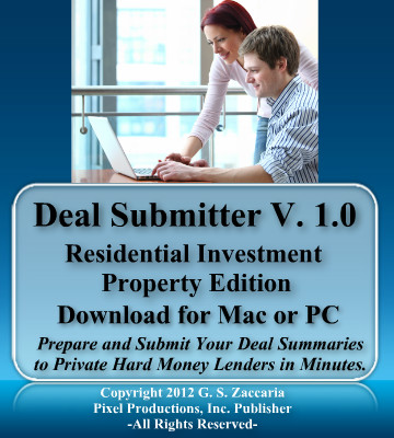 hard money loan submitter