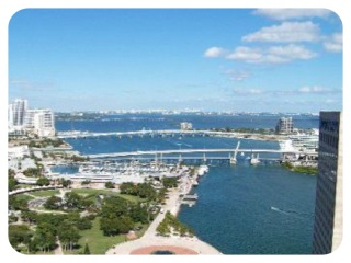 View From Key Biscayne Bank Owned Condo Unit