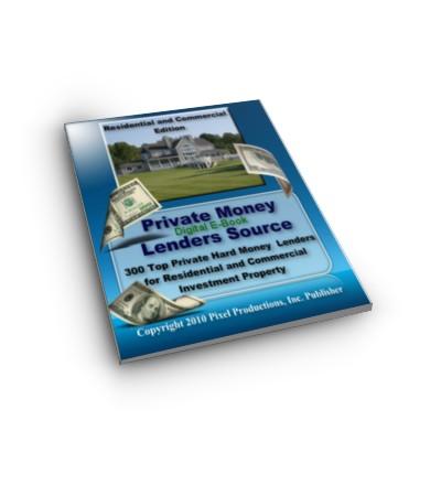 Private Money Lenders Source Digital E-Book